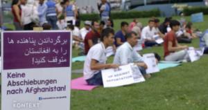 Demo gegen Abschiebungen nach Afghanistan, Wien