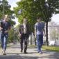 Strafverteidiger Rudolf Mayer und zwei ehemalige Klienten