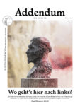 Addendum-Zeitung Ausgabe 4 Cover