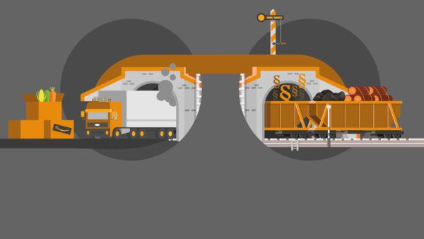 Schiene statt Straße: Warum das nicht funktioniert