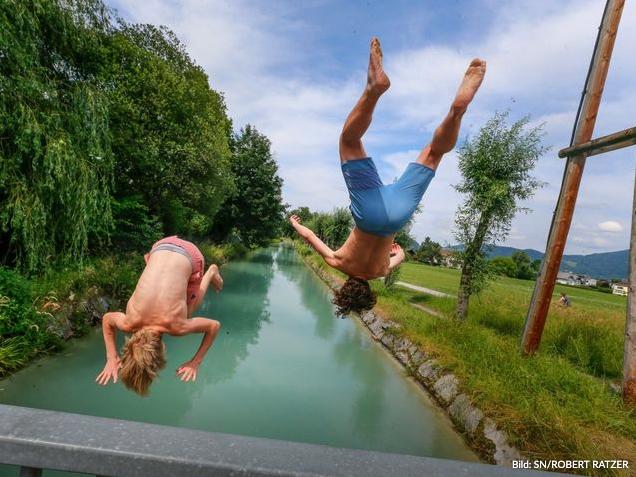 40 Hitzetage könnten in Salzburg bald Realität seins