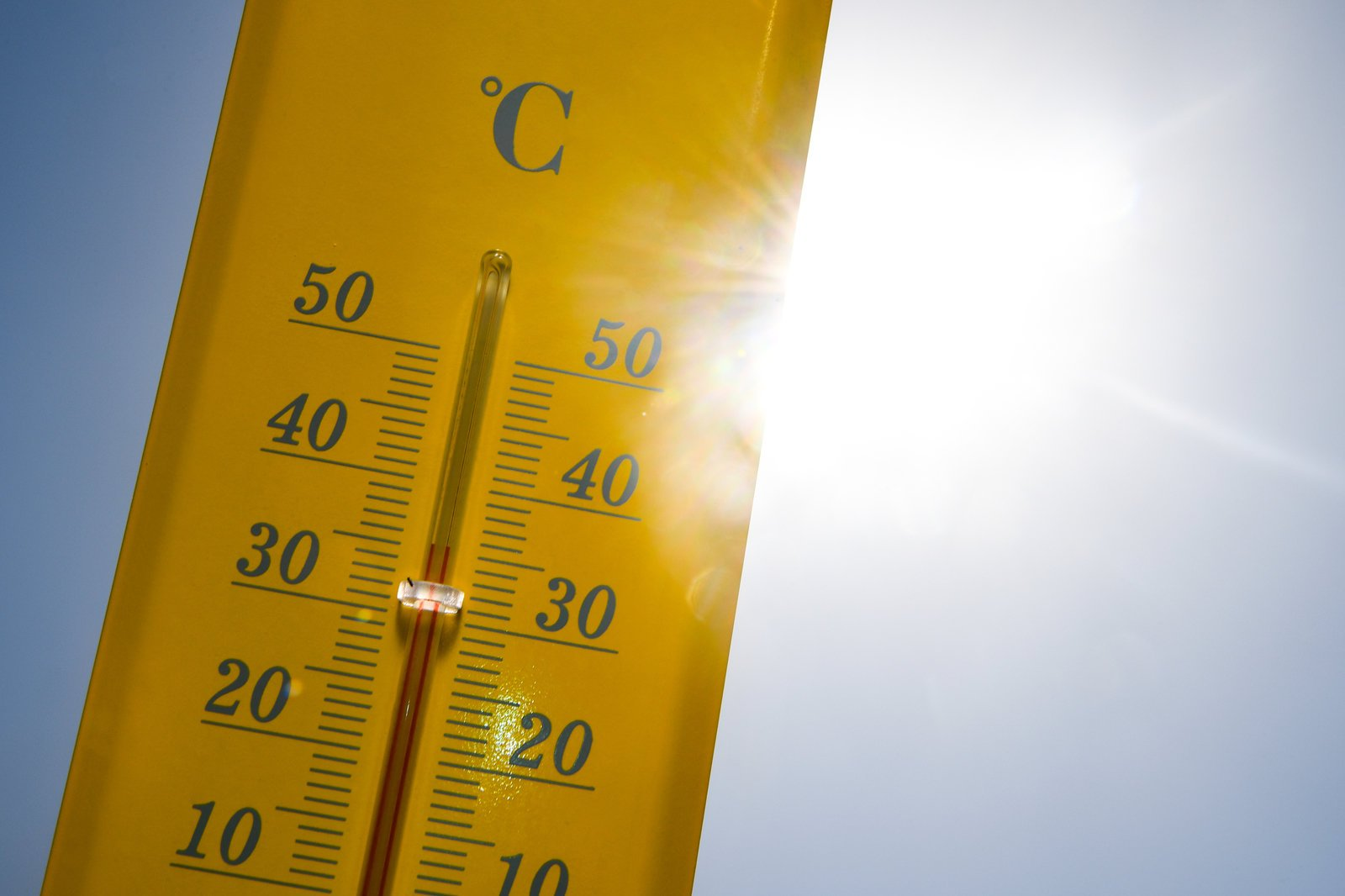 Der Temperaturanstieg ist ungleich verteilt
