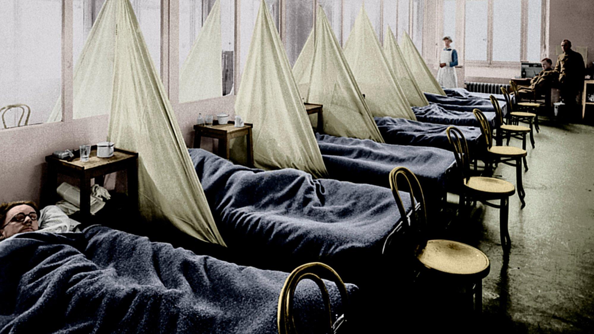 Spanische Grippe Corona