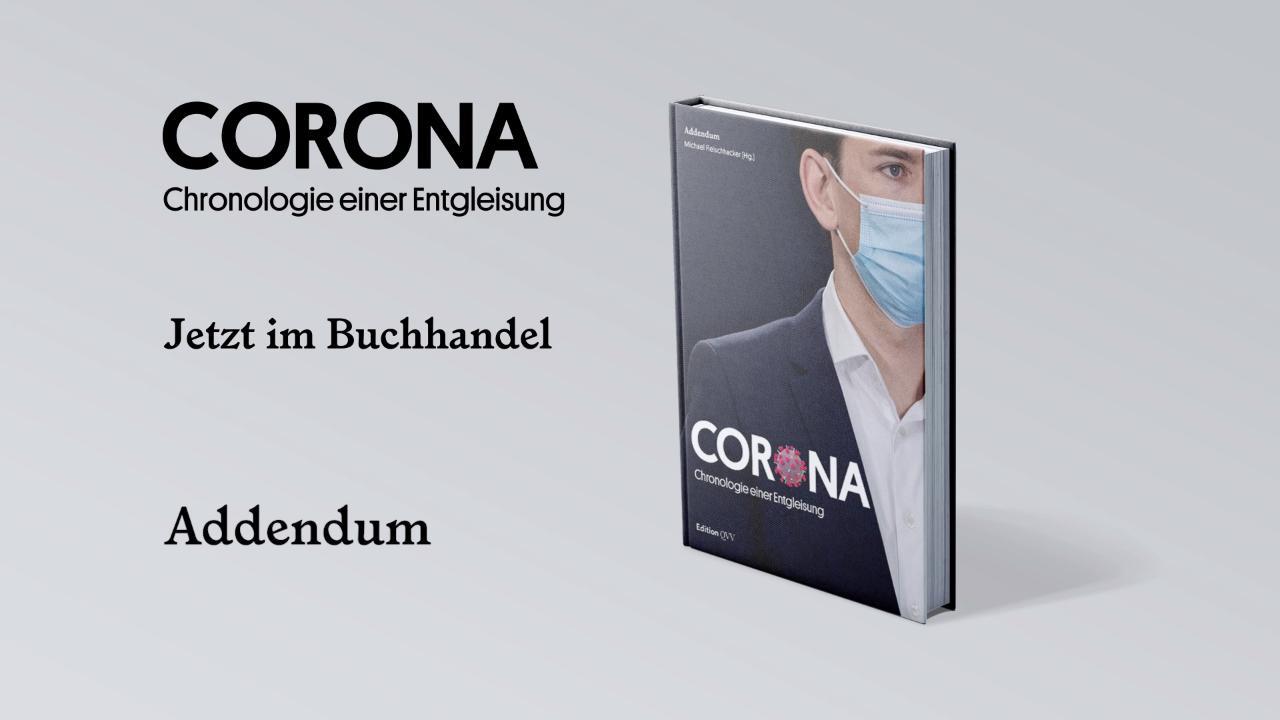 Corona: Chronologie einer Entgleisung – Jetzt im Buchhandel!